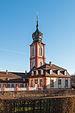Schloss Bruchsal-Hofapotheke-Kirchturm.jpg