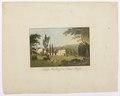 Schloss Hallwyl im Canton Argau, 1816 - Hallwylska museet - 102207.tif