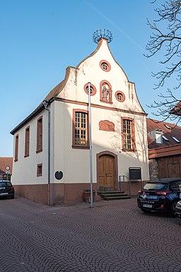 Schlossplatz in Walldorf