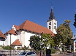 Schriesheim Evangelische Kirche 20100920