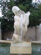 Schubertbrunnen im Wiener Bezirk Alsergrund (Quelle: Wikimedia)