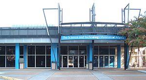 SciTrek - Museum entrance