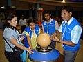 Science Career Ladder Workshop Participants Visiting Science City - Indo-US Exchange Programme - Kolkata 2008-09-17 01273.JPG