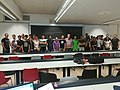Science technology society and Wikipedia Doctorate course group photo 04.jpg