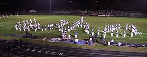 "Whetstone High School (Columbus, Ohio) - The Whetstone High School Marching Band performing ""Script Whs"""