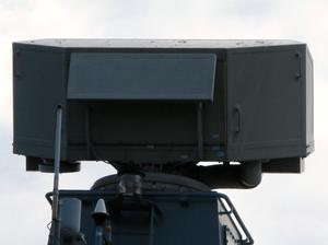 Giraffe radar - Sea GIRAFFE 3 D radar on Polish Corvette