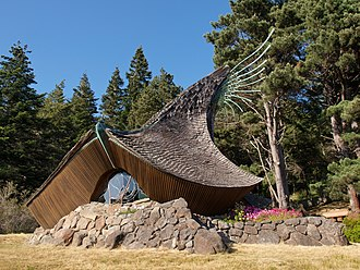 Sea Ranch, California - The Sea Ranch Chapel, designed by James Hubbell.