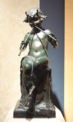 Janet Scudder - Image: Seated Faun by Janet Scudder, 1924, bronze Brooklyn Museum DSC09631