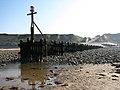 Seaward end of a wooden groyne - geograph.org.uk - 794888.jpg