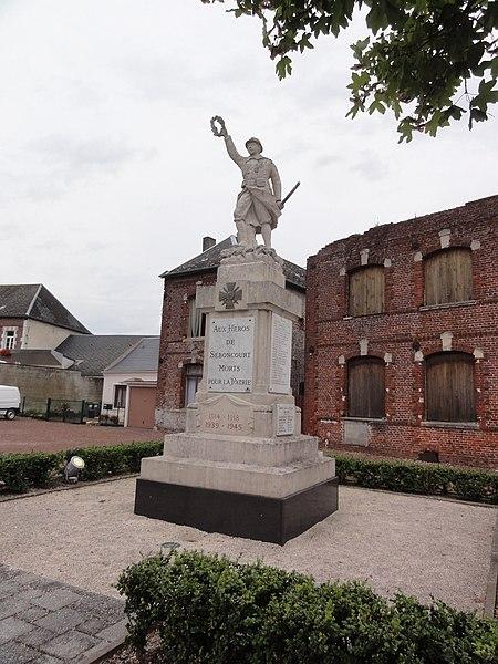 Seboncourt (Aisne) monument aux morts