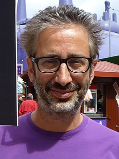 David Baddiel British comedian