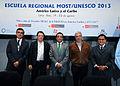 Secretario General de la Cancillería clausura V Escuela Regional del Programa MOST-UNESCO (9600434094).jpg