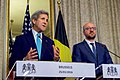 Secretary Kerry and Belgian Prime Minister Michel Deliver Statements to the Media in Brussels (26025142245).jpg