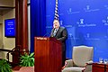 """Secretary Pompeo Delivers a Speech, """"After the Deal A New Iran Strategy"""", at the Heritage Foundation (27386413777).jpg"""