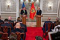 Secretary Pompeo Participates in a Press Availability in Montenegro (48844398567).jpg