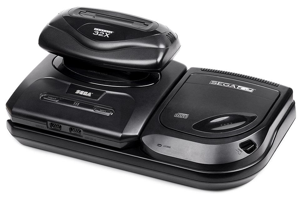 Sega-Genesis-Model-2-Monster-Bare