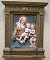 Seguace del verrocchio, madonna col bambino e san giovannino,.JPG