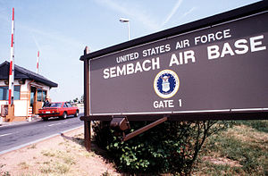 Sembach Air Base Gate No. 1 in 1989.JPEG
