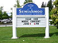 Semiahmoo Secondary school sign (148 Street).jpg