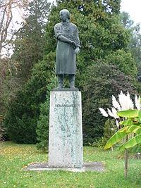 Estatua en Heidelberg (Baden-Württemberg), Alemania