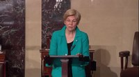 File:Senator Elizabeth Warren Celebrates the Career of Emily Winterson.webm