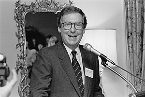 Mitch McConnell - Senator Mitch McConnell in 1992