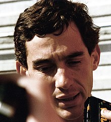 Photo de Ayrton Senna, dont la mort durant la course changea durablement la Formule 1