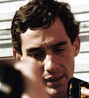 1987 FIA Formula One World Championship - Ayrton Senna, driving for Lotus, finished third.