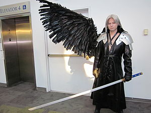 Sephiroth cosplayer at FanimeCon 2010-05-30 1.JPG