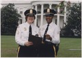 Sergeant Laurie Rich, white female, and Sherrine Freeman, minority female. (White House Police Officers) - NARA - 558657.tif
