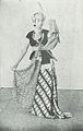 Serimpi Dancer in Yogyakarta, Kota Jogjakarta 200 Tahun, plate before page 137.jpg