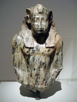Bust of Senusret I in the Altes Museum, Berlin