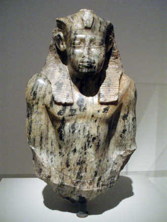 Senusret I - Bust of Senusret I in the Neues Museum, Berlin
