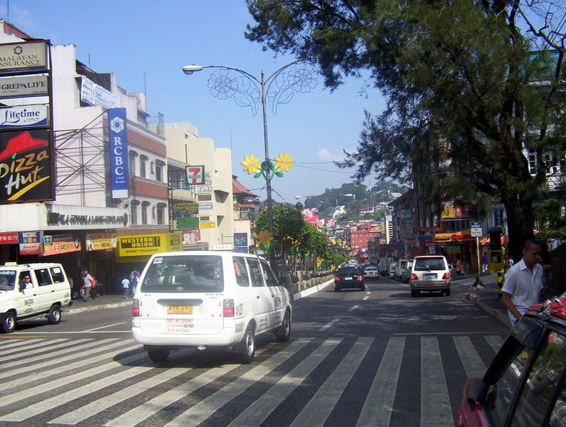 File:Session Road, Baguio City.jpg