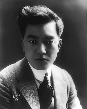 Sessue Hayakawa - Sessue Hayakawa in c. 1918