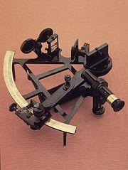 Un sextante listo para descifrar el cielo!!
