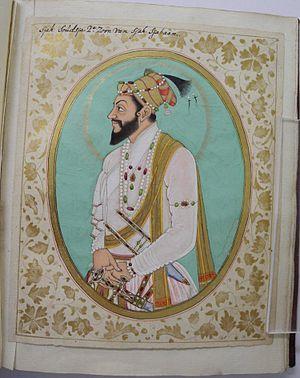 Shah Shuja (Mughal prince) - Portrait of Shah Shuja