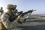Sharpened Steel, 15th MEU Marines practice shooting 151031-M-GC438-029.jpg