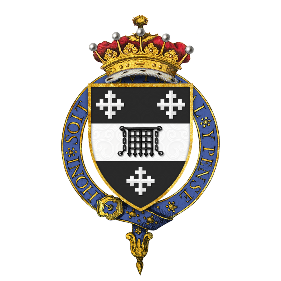 Shield of Arms of H. H. Asquith, 1st Earl of Oxford and Asquith, KG, PC, KC, FRS