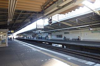 Shin-Sugita Station Railway station in Yokohama, Japan