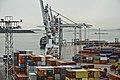Shipping containers at West Harbour in Jätkäsaari, Helsinki, Finland, 2008 October.jpg