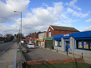 Lundwood village in United Kingdom