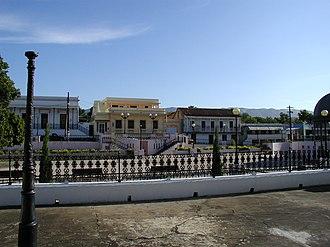 Coamo, Puerto Rico - Downtown plaza area