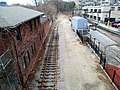 Siding at Fenway station, April 2016.JPG