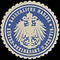 Siegelmarke K. Marine Küsten-Bezirksamt II, Stettin W0363948.jpg