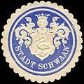 Siegelmarke Stadt Schwaan W0290008.jpg