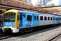 Siemens train in Metro Trains Melbourne Livery.jpg