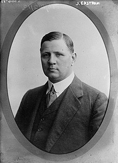 Sigfrid Edström Swedish industrialist and International Olympic Committee official