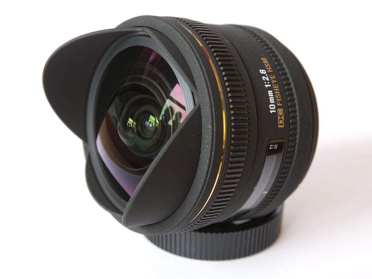 Sony Full Frame Lenses >> Sigma 10mm f/2.8 EX DC Fisheye HSM lens - Wikipedia