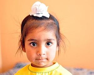 Kesh (Sikhism) - A Sikh boy wearing a rumāl